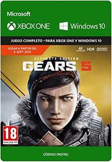 Gears Of War 5 Ultimate Edición Digital Y Gears Of War 4