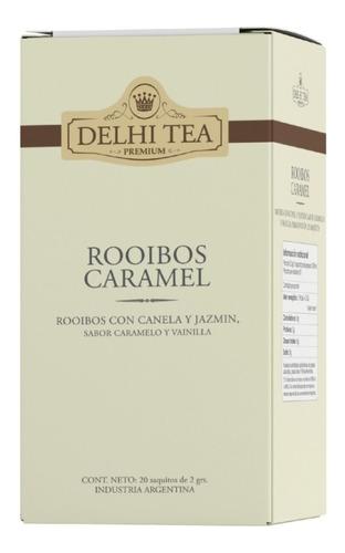 Te Premium Delhi Tea X 20 Saq. Rooibos Caramel