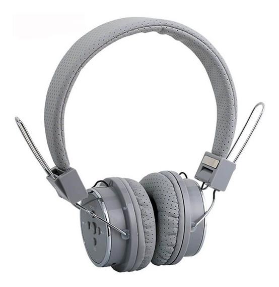 Fone Bluetooth Headphone Sem Fio Com Fm Entrada P2 Micro Sd