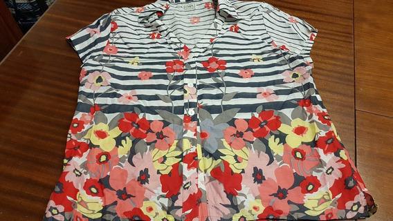 Camisa Calyx Estampada Tl/ Xl