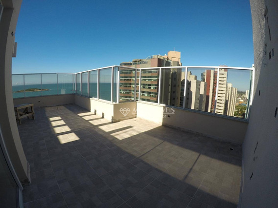Cobertura Com 2 Dormitórios À Venda, 115 M² Por R$ 780.000 - Praia De Itaparica - Vila Velha/es - Co0049