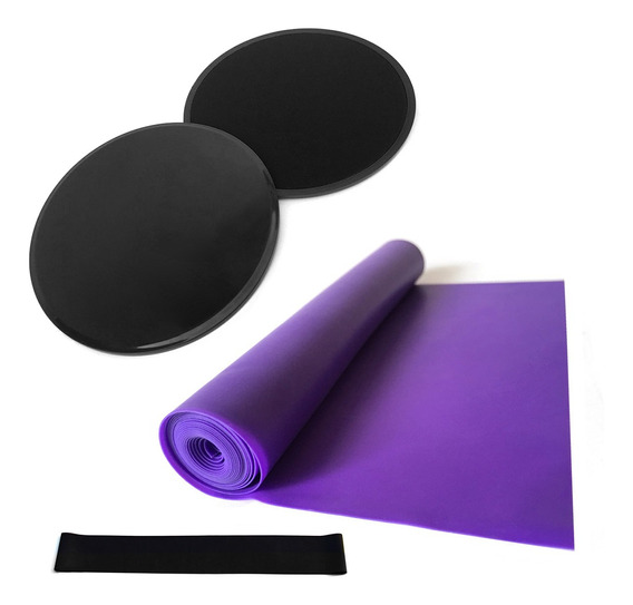 Juego De 4 Piezas De Equipo De Yoga, Discos De Núcleo Desliz