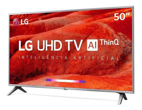 Smart Tv Lg 50 Uhd 4k Controle Smart Magic Thinq Ai 50um7500psb