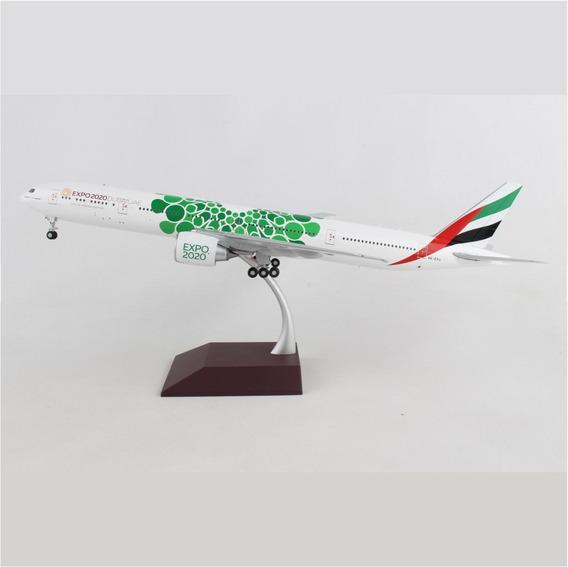 Miniatura Avião Emirates 777-300 Expo 2020 1:200 Gemini Jets