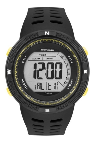 Relógio Mormaii Masculino Wave Preto Mo3590ac/8y
