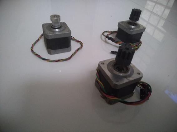 4 Motores Passo Para Impressora 3d Ou Cnc