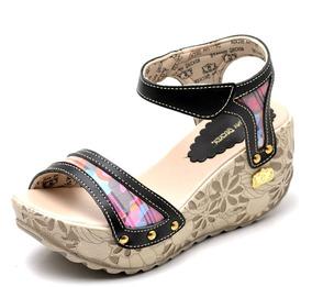 3f9bc600d0 Sandália Anabela Dakota Preto - Sapatos no Mercado Livre Brasil