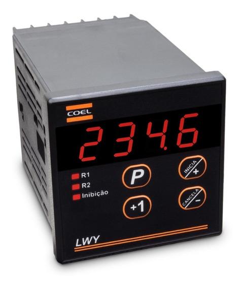 Rele Temporizador Lwy 999,9 S/min/h 110vca Coel