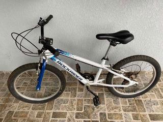 Bicicleta Infantil Aro20 Rockrider St120 Câmbio Traseiro 6v