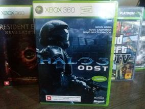 Jogo Halo 3 Odst Original Xbox 360 Mídia Física Em Português