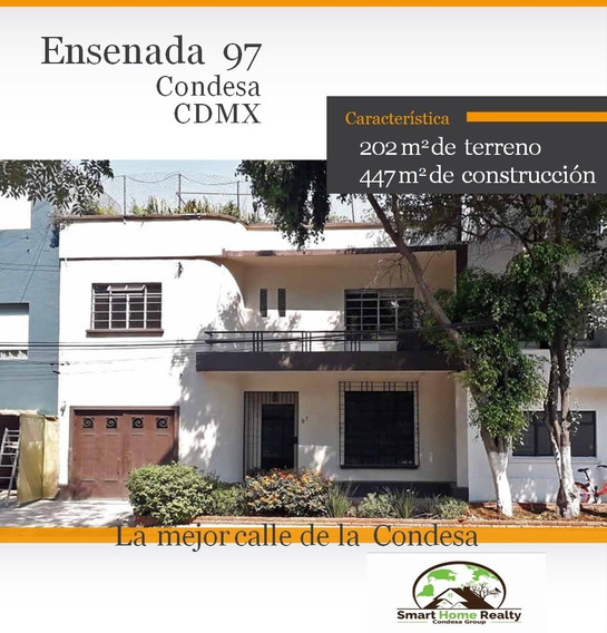 Magnifica Casa En Condesa Cdmx