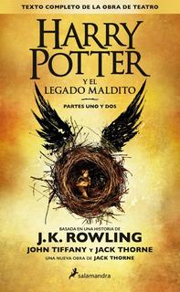 Harry Potter Y El Legado Maldito J. K. Rowling Original
