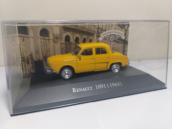 Renault 1093 1964 Carros Inesquecíveis Do Brasil Escala 1/43
