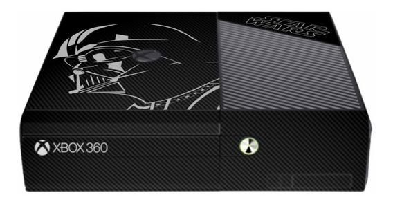 Skin Carbono Xbox 360 Super Slim - Star Wars Modelo 1