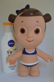 Boneca(o) Doll Nívea+super Balão De Ar+copo Unicórnio+brinde