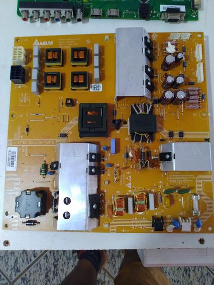 Placa Fonte Tv Philips Modelo 40pfl6605d/78 Usada