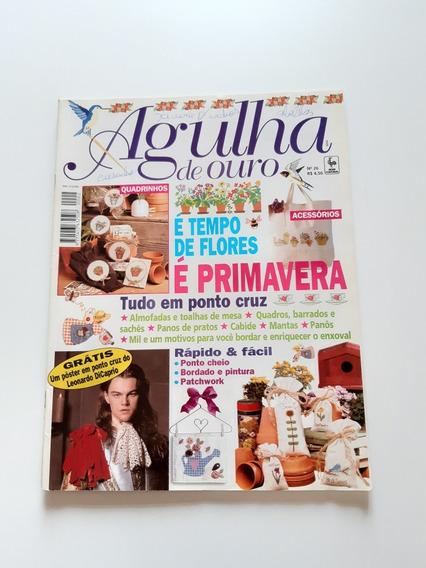 Revista Agulha De Ouro Ponto Cruz Primavera Flores D720
