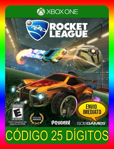 Rocket League Xbox One - 25 Dígitos (envio Já)