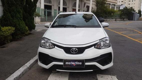 Toyota Etios X 1.3 Flex 2018 Branco Completo