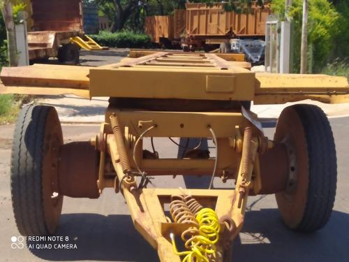 Imagem 1 de 6 de Carreta Julieta Chassis Reto 1996 Com Documentos R$ 35.000.