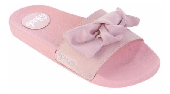 Chinelo Slide Goofy Original Rose