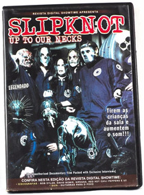 Dvd Slipknot - Up To Our Necks Original Seminovo