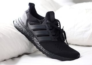 Adidas Ultra Boost Triple Black Hombre Deportes y Fitness