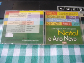 Cd Mensagens Para Natal Ano Novo - Caras - Angelica Fabio Jr