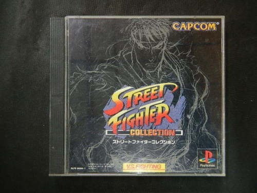Raro Street Fighter Collection Ps1 Jap!