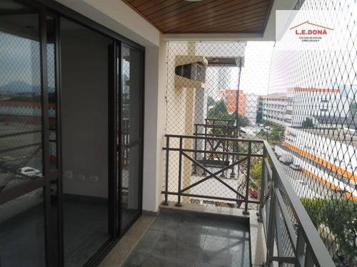 Apartamento Com 3 Dormitórios À Venda, 117 M² Por R$ 813.000,00 - Vila Campesina - Osasco/sp - Ap1940