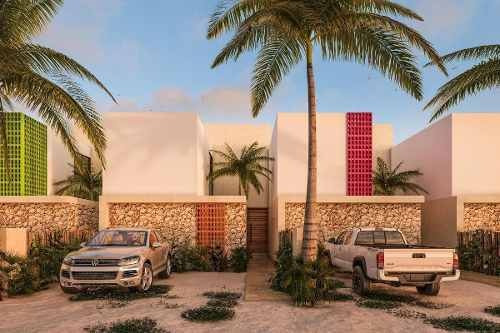 Hermosa Villa Diez.cinco En Chicxulub Puerto, En Preventa
