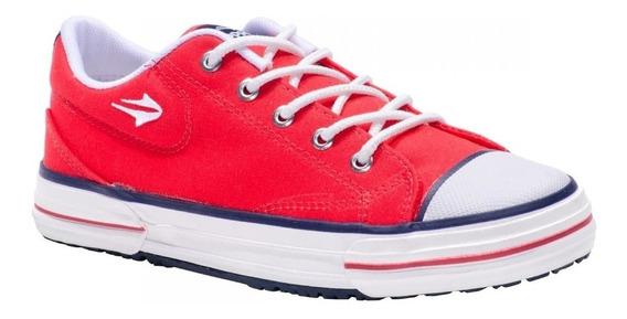 Zapatillas Topper Nova Low Rojo Reforzada Adulto