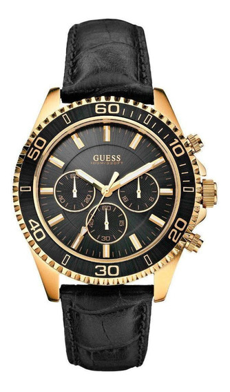Relógio Guess Masculino Com Cronógrafo W0171g3