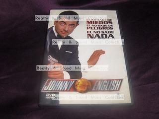 Johnny English Pelicula Dvd Mr Bean De Coleccion