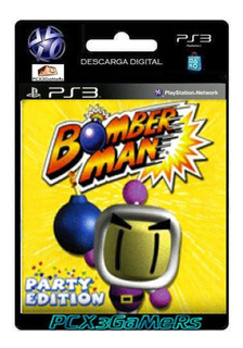 Ps3 Juego Bomberman Party Edition Pcx3gamers