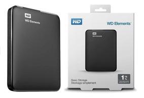 Hd Externo 1tb Western Digital Wd Pc Mac Tv Xbox One E Ps4