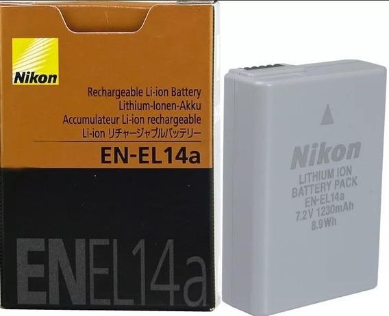 Bateria Recarregável Nikon En-el 14a