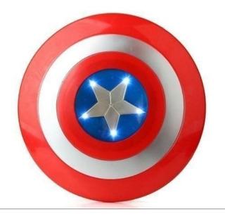 Escudo Capitan America Con Luz - 6 Cuotas Sin Int!!