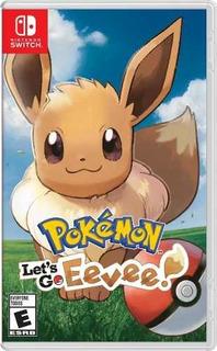 Juego Nintendo Switch Pokemon Lets Go Eevee (eu)