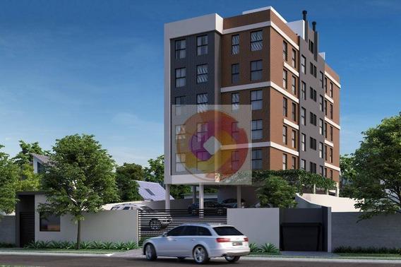 Apartamento Com 3 Dormitórios À Venda, 58 M² Por R$ 245.900,00 - Bom Jesus - São José Dos Pinhais/pr - Ap0224