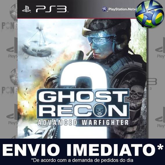 Tom Clancys Ghost Recon Advanced Warfighter 2 Ps3 Psn Promo