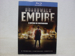 Box C/ 5 Blu-rays Boardwalk Empire- O Império Do Contrabando