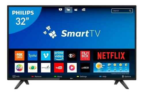 Led Smart Tv 32  Hd Philips (32phg5813)