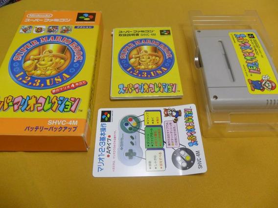 Super Mario Collection ( All Stars ) - Original - Na Caixa