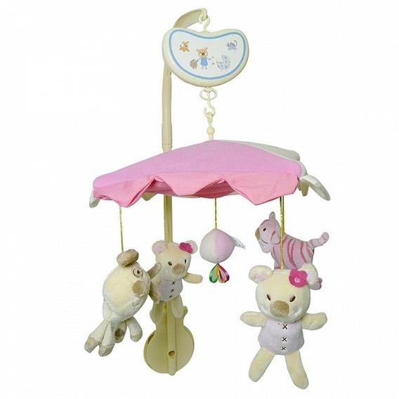 Movil Musical Para Cuna Biba Toys Qb357