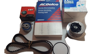 Kit Distribucion Y Bomba De Agua Chevrolet Agile - Celta 1.4