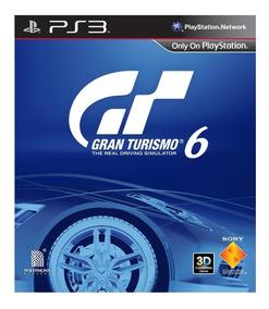 Gran Turismo 6 Ps3 - Mídia Digital