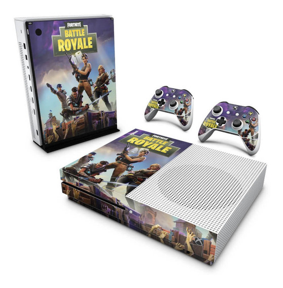 Skin Xbox One S Slim Adesivo Fortnite Battle Royale