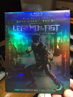 Blu Ray Legend Of The Fist The Returns...