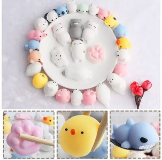 Squishy Kawaii 5pz Gato Nepe Animales Antiestres Baratos